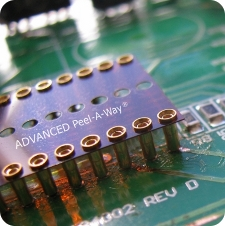 AIC DIP Socket Peel-A-Way PCB