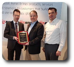 Avnet Abacus 2016 Europe Distributor of the Year
