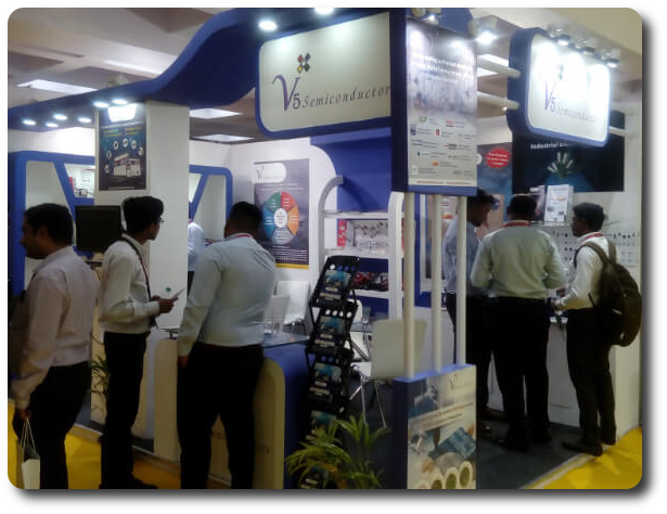 V5 Semiconductors Trade Show Booth